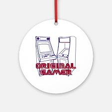 Original Gamer Ornament (Round)