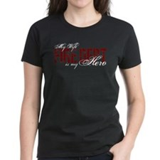 My Wife My Hero - Fire Dept Tee