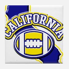 California Football Tile Coaster