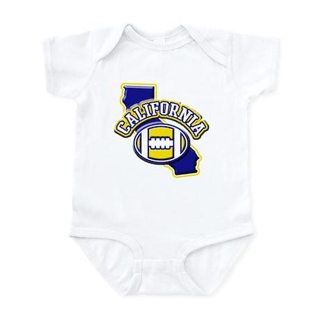 California Football Infant Bodysuit