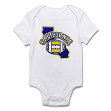 California Football Infant Bodysuit