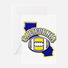 California Football Greeting Card