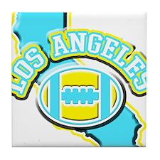Los Angeles Football Tile Coaster