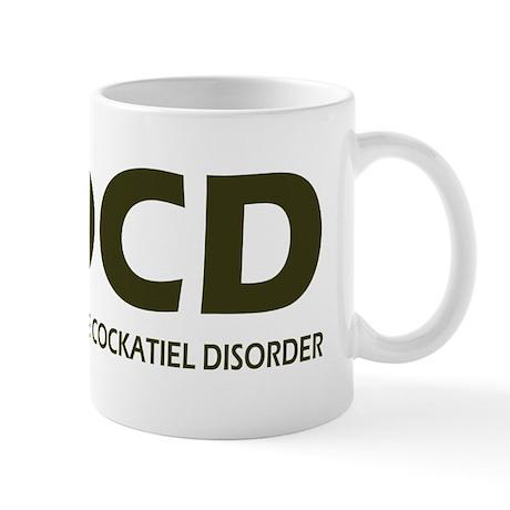 Obsessive Cockatiel Disorder Mug