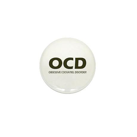 Obsessive Cockatiel Disorder Mini Button (10 pack)