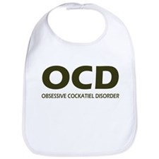 Obsessive Cockatiel Disorder Bib