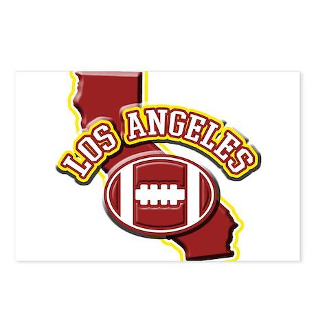 Los Angeles Football Postcards (Package of 8)