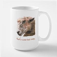 That's some bad sheep. Mug