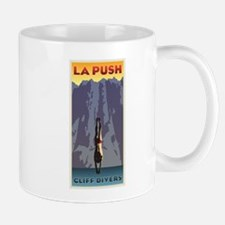Art Deco La Push Cliff Divers Mug