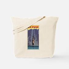 Art Deco La Push Cliff Divers Tote Bag