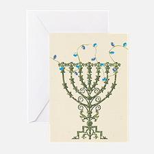 Hanukkah Menorah Greeting Cards (Pk of 20)