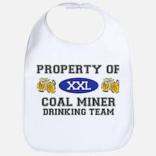 Property of Coal Miner Drinking Team Bib