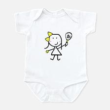 Girl & Tennis Infant Creeper