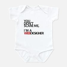 You don't scare me, I'm a webdesigner Infant Bodys