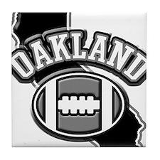 Oakland Football Tile Coaster