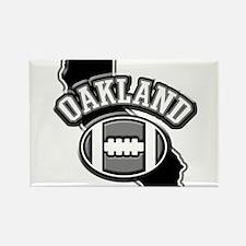 Oakland Football Rectangle Magnet