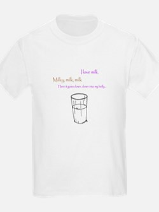 Unique I love milk T-Shirt