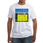 Bush Eviction Notice Fitted T-Shirt