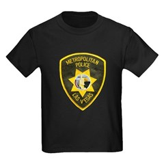 Metro Vegas PD Kids Dark T-Shirt