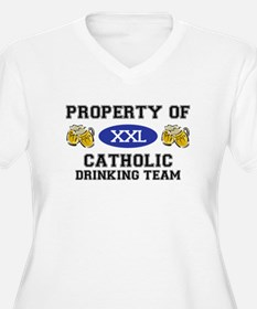Property of Catholic Drinking Team T-Shirt