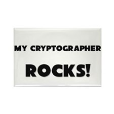 MY Cryptographer ROCKS! Rectangle Magnet