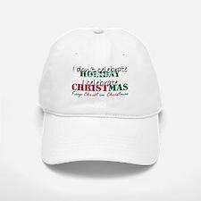 I celebrate Christmas Baseball Baseball Cap