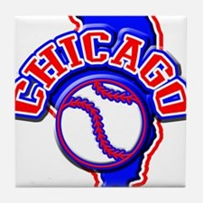 Chicago Baseball Tile Coaster