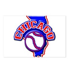 Chicago Baseball Postcards (Package of 8)