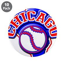 "Chicago Baseball 3.5"" Button (10 pack)"