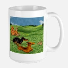Running of the Bunnies Mug