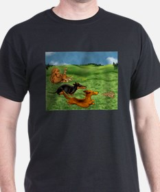 Running of the Bunnies T-Shirt