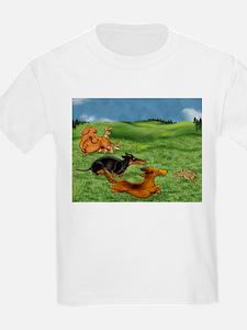 Running of the Bunnies T-Shirt