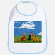 Cottontail Cloud Bib