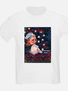 Victory Nostalgia Sailor Girl T-Shirt