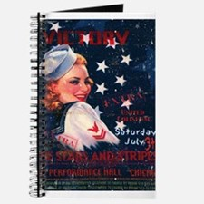 Victory Nostalgia Sailor Girl Journal