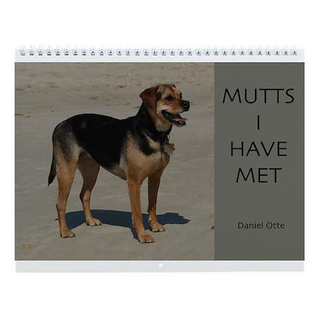 Mutts Wall Calendar