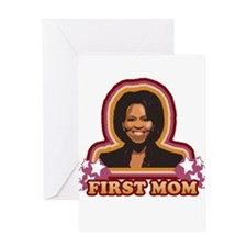 First Mom Greeting Card