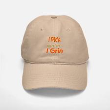Pick and Grin Baseball Baseball Cap