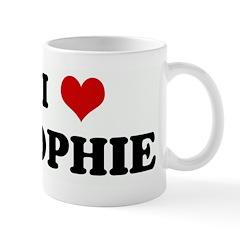 I Love SOPHIE Mug