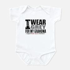 I Wear Grey Grandma Infant Bodysuit