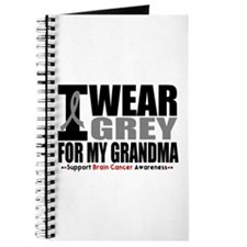 I Wear Grey Grandma Journal