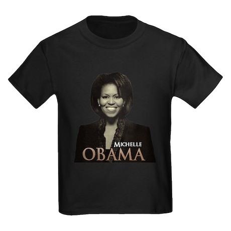 Michelle Obama Kids Dark T-Shirt