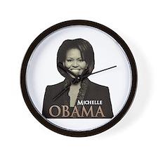 Michelle Obama Wall Clock