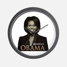 Michelle Obama Wall Clock