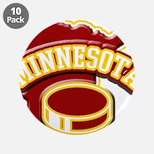 "Minnesota Hockey 3.5"" Button (10 pack)"
