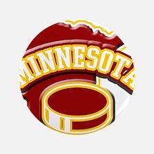 "Minnesota Hockey 3.5"" Button"