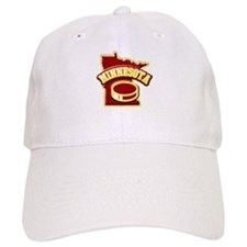 Minnesota Hockey Baseball Cap