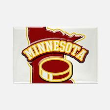 Minnesota Hockey Rectangle Magnet (100 pack)