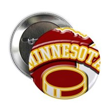 "Minnesota Hockey 2.25"" Button"