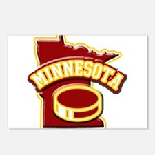 Minnesota Hockey Postcards (Package of 8)